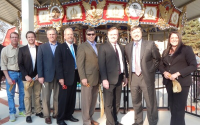 Potawatomi Zoo Unveils New Carousel Plaza