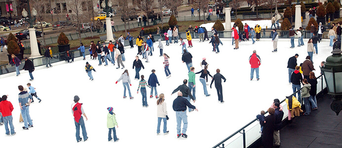 Free Ice Skating and More at University Park Mall