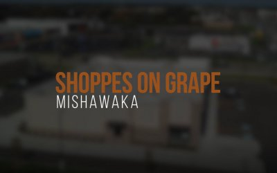 Fly Around Ancon Construction's Latest Project The Shoppes on Grape!