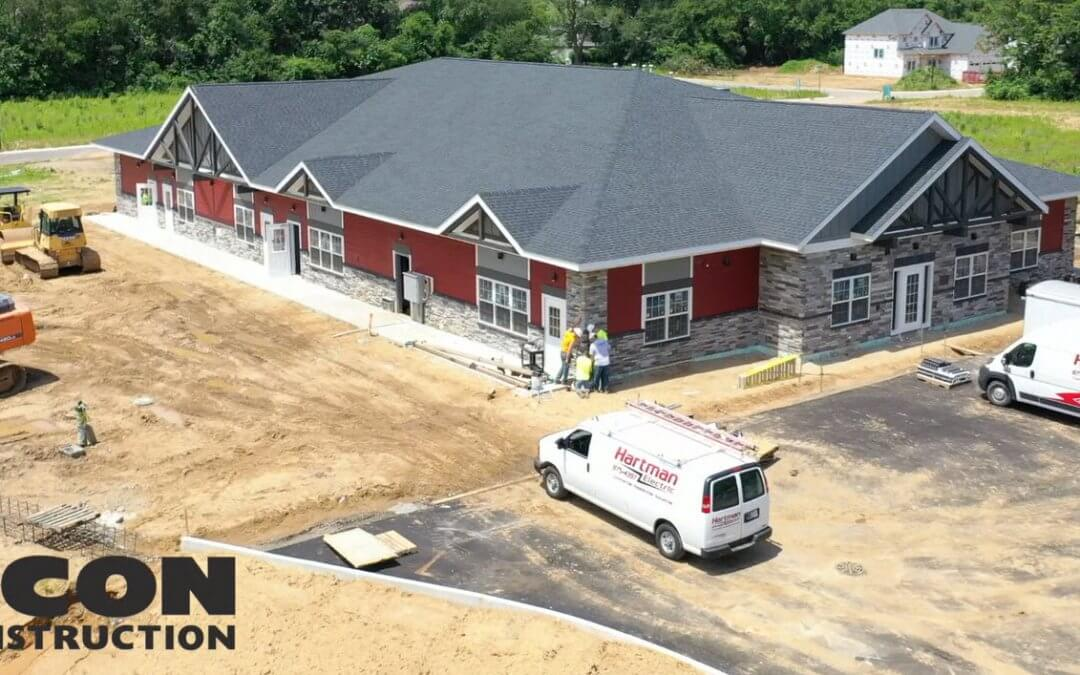 Goddard School Project Update!  Done Video Highlights Dazzling Building Colors.
